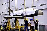 RLV-TD HEX01, TDV being hoisted.jpg