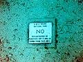RMS Rhone National Park sign on ocean floor.jpg