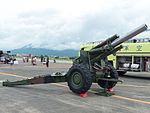 ROCA M114A1 155mm Howitzer Display at Hualien AFB Apron 20160813.jpg