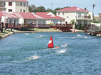 Sport in South Africa - Eastern Cape Open Water event at Marina Martinique
