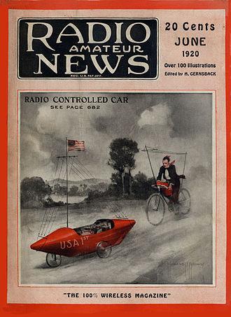 Radio News - Image: Radio Amateur News Jun 1920