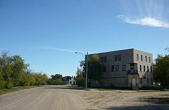Radisson, Saskatchewan - Radisson Hotel on Railway Avenue