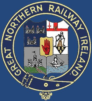 Red Hand of Ulster - Image: Railway GN Rsymbol colored