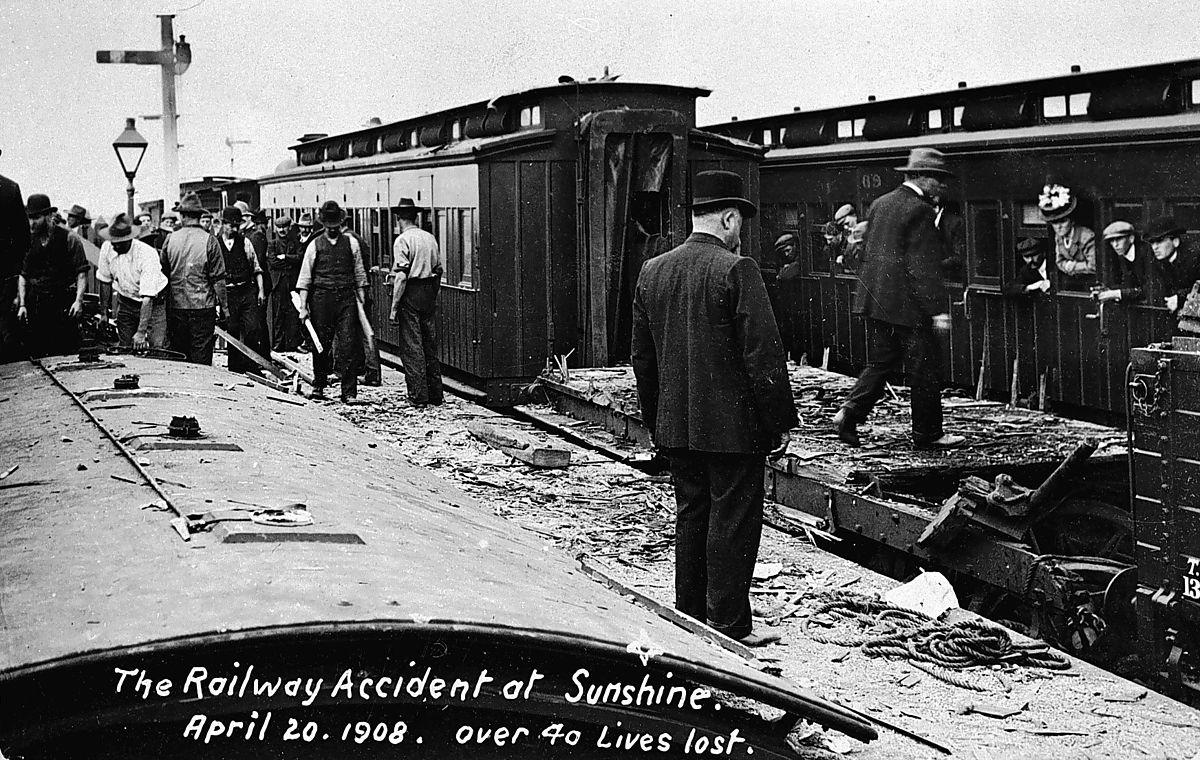 Sunshine rail disaster - Wikipedia