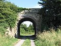 Railway bridge over old Chippenham to Calne branch line - geograph.org.uk - 203951.jpg