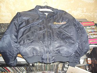 Raindance (rave) - MA-2 bomber jacket with the Raindance logo
