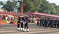 Rajnath Singh reviewing the Passing Out Parade at the National Defence Academy, in Pune in November 2019.jpg