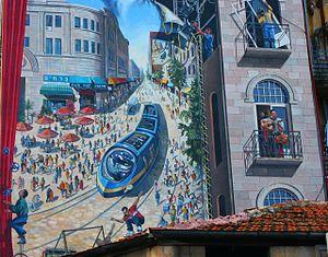 Jaffa Road - Image: Rakevet kala