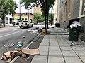 Raleigh, North Carolina George Floyd death protest damage 02.jpg