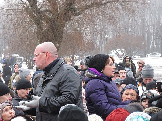 Rally against cession of St Isaac Cathedral to The Russian Orthodox Church (St. Petersburg, 2017-01-28) 35.jpg