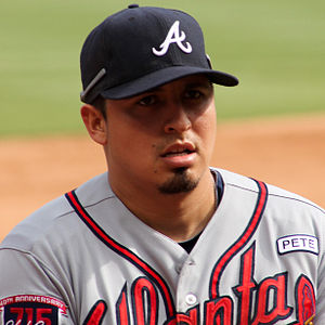 Ramiro Pena Atlanta Braves versus Texas Sept 2014.jpg
