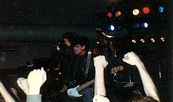 Os Ramones em concerto em 1983, em Seattle.