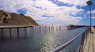 Rapid Bay, South Australia - Image: Rapid Bay Old Jetty