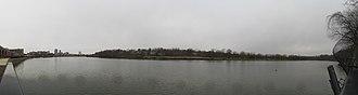 Elmer B. Boyd Park - Image: Raritan River from Boyd Park