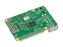 220px Raspberry Pi 2 Bare Bottom