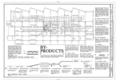 Rath Packing Company, Beef Killing Building, Sycamore Street between Elm and Eighteenth Streets, Waterloo, Black Hawk County, IA HAER IOWA,7-WATLO,4U- (sheet 2 of 2).png