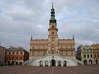 Town Hall of Zamość by Bernardo Morando
