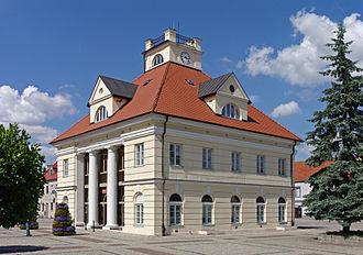 Łęczyca - Town hall of Łęczyca