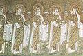 Ravenna, sant'apollinare nuovo Sante Vergini (seconda metà del VI secolo).jpg