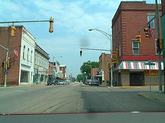 Ravenswood, West Virginia - Intersection of Washington and Walnut Streets