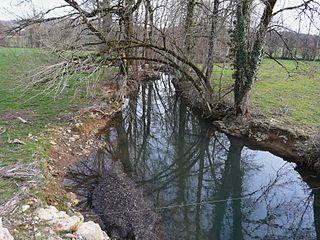 Ravillou river in France