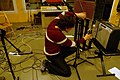Re-amp setting, Guy Sternberg, Marc Morgan album recording, LowSwing studio, Berlin, 2011-01-25 22 33 50.jpg