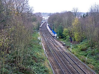 Reading West railway station - Image: Reading West station (geograph 4753158)