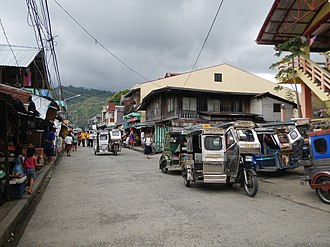 Real, Quezon - Downtown area