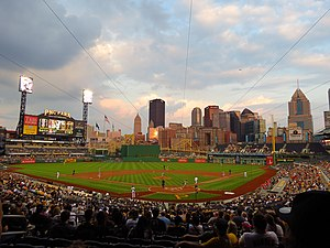 2015 Pittsburgh Pirates season - The Pirates play the Reds at PNC Park on May 6.