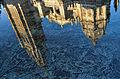 Reflejo Catedral de Toledo en Fuente Tres Aguas -- 2014 -- Toledo, España 07.JPG
