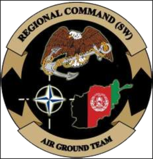 Regional Command Southwest - Regional Command (SW) logo
