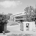 Rehovot Weizmann Institute Toegangshek bij een van de gebouwen, Bestanddeelnr 255-3881.jpg