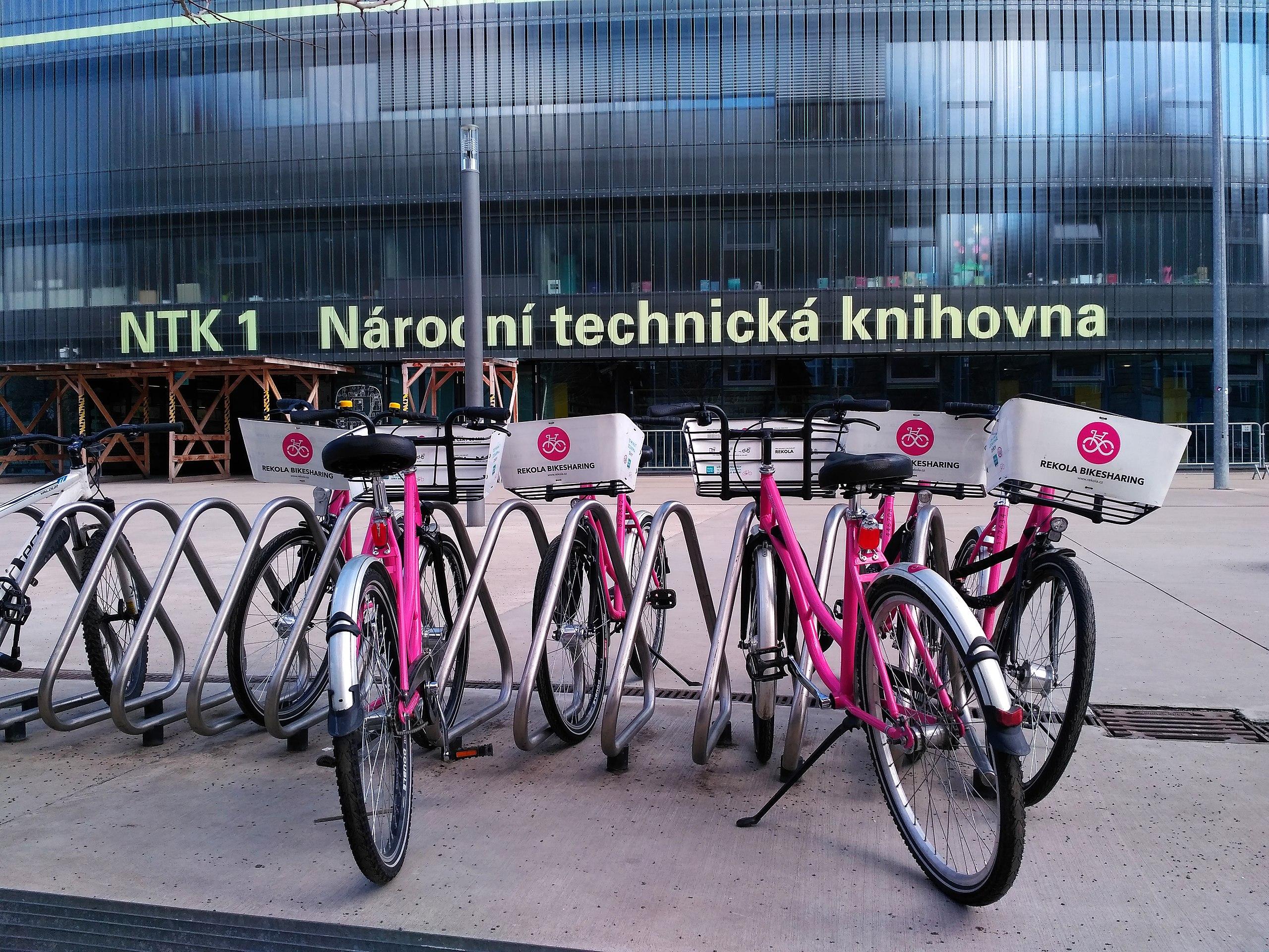 Jízdní kola firmy Rekola před NTK