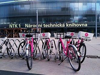 Rekola - Rekola in front of Czech National Library of Technology, Prague