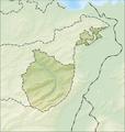 Reliefkarte Appenzell Innerrhoden blank.png