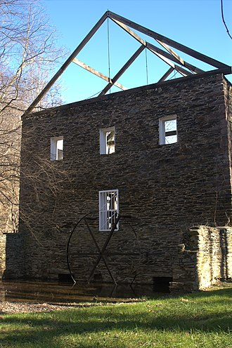 Seneca Creek State Park - Remains of Black Rock Mill