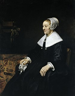 <i>Portrait of Catharina Hooghsaet</i> painting by Rembrandt