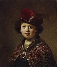 Rembrandt - A Boy in Fanciful Costume.jpg