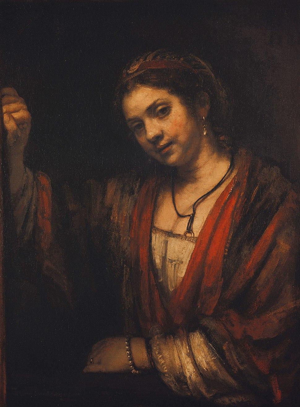 Rembrandt - Portrait of Hendrickje Stoffels - Google Art Project