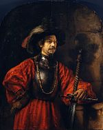 Rembrandt - Portrait of a Man in Military Costume.jpg