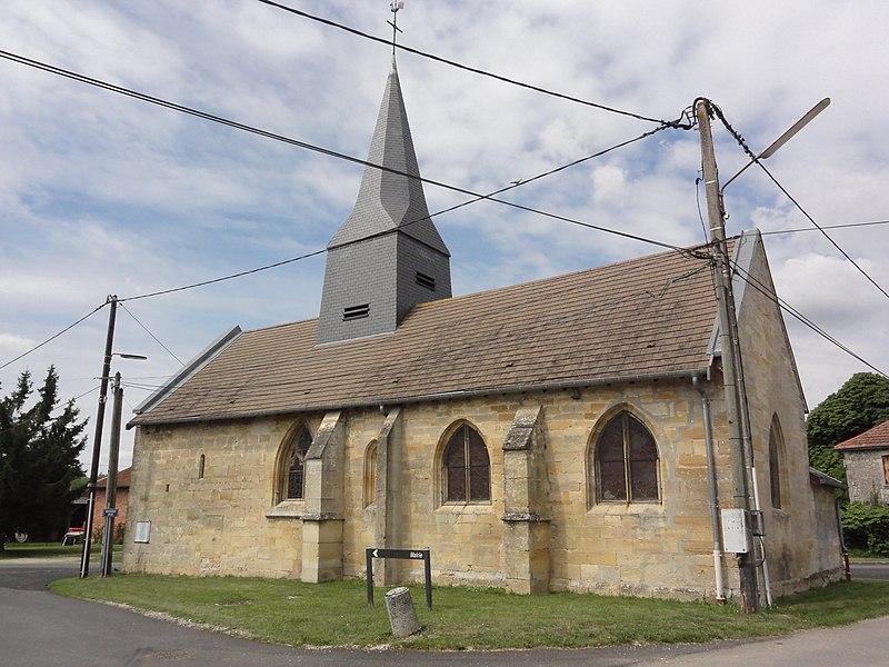 Remennecourt (Meuse) église