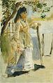 Renoir Woman by a Fence.jpg