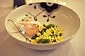 Restaurant AOC Umodne rabarber, frossen creme og hvedegræs (4696522023).jpg