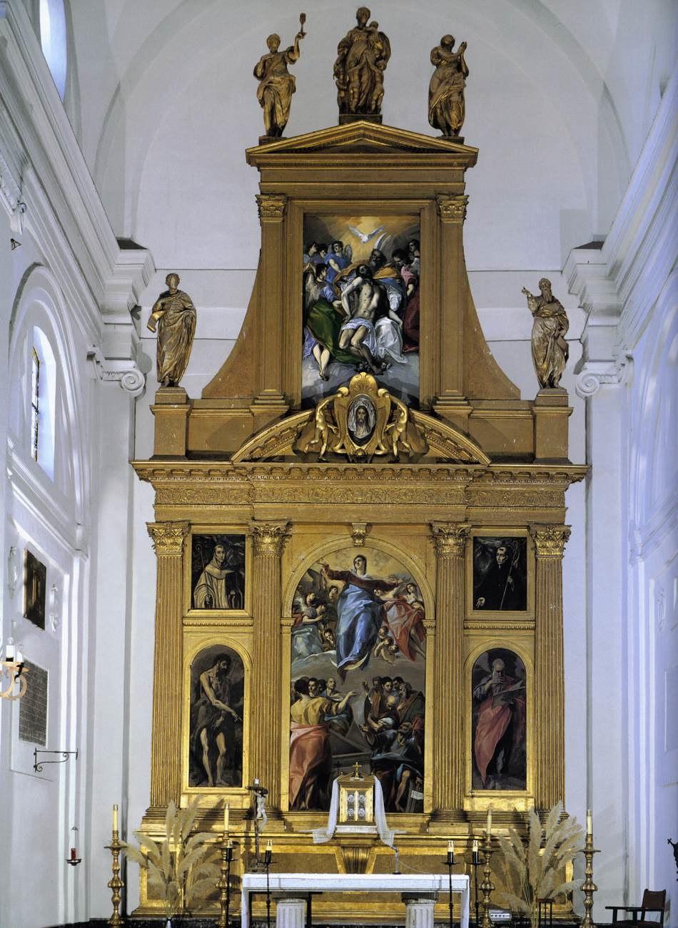Retablo mayor Santo Domingo el Antiguo