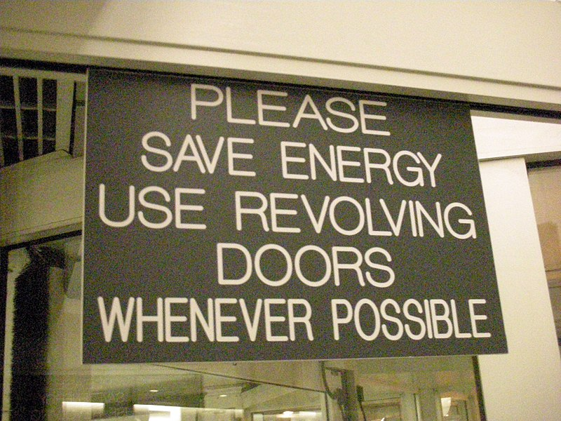 File:Revolving Door Sign.jpg