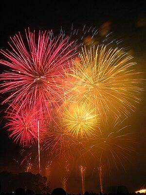 Rhein in Flammen - The fireworks in Bonn