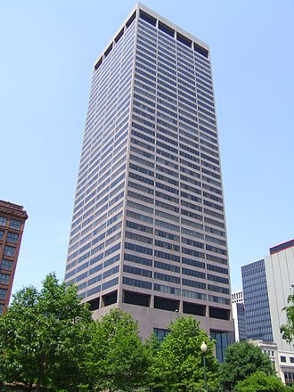 Government of Ohio - The Rhodes State Office Tower in Columbus