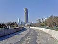 Rió Mapocho en Santiago de Chile, comuna de Providencia..jpg