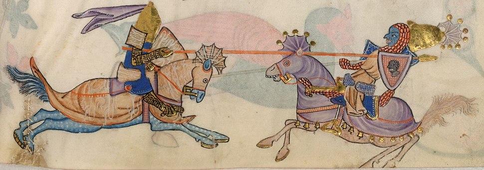 Richard-Saladin legendaerer Kampf vor Jaffa