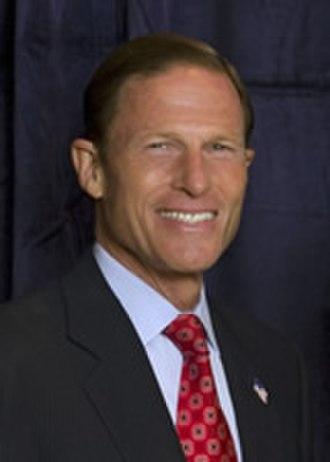Richard Blumenthal - Senate Portrait of Blumenthal